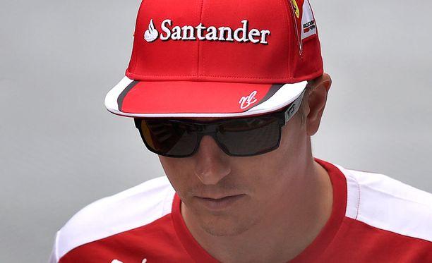 Kimi Räikkönen onnistui lähes täydellisesti lauantain aika-ajossa.