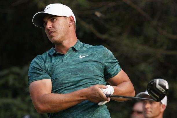 Brooks Koepka on Yhdysvaltain suurimpia golftähtiä.