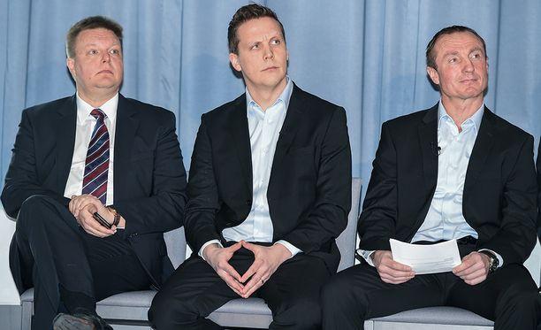 Harri Nummela ei halunnut vielä lähteä kritisoimaan kaksikon Lauri Marjamäki-Jere Lehtinen epäonnistumista Leijonien pelaajarekrytoinnissa.
