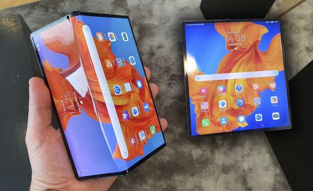 Huawei esitteli Mate Xs -puhelimen.