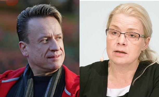 Petri Lehtinen kertoo, että pyrkii työkyvyttömyyseläkkeelle. Kansanedustaja Leena Meri kiistää jyrkästi epäasiallisuudet.