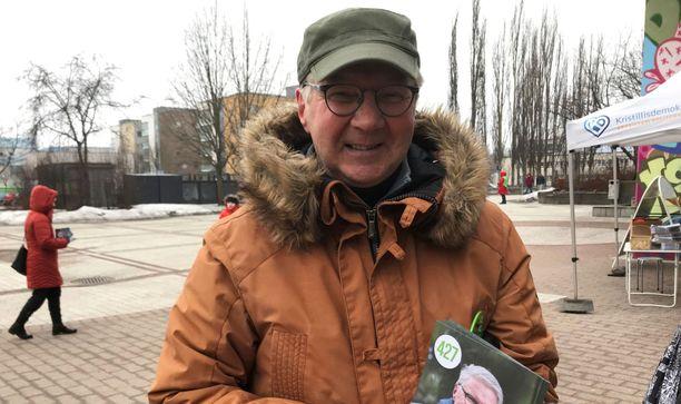 Pirkka-Pekka Petelius on nykyisin vihreiden kansanedustaja.
