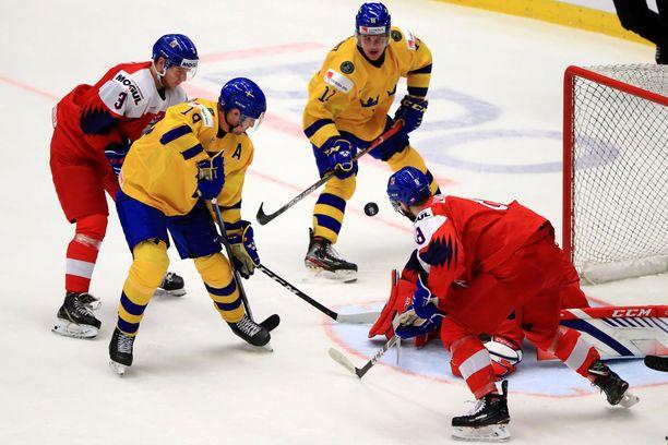 Ruotsi ja Tshekki kohtasivat viime vuoden kisoissa neljännesfinaalissa. Kuva tammikuulta 2020.