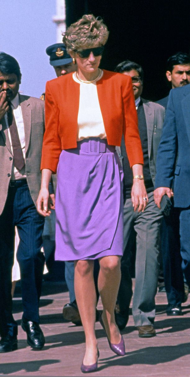 Diana helmikuussa 1992.