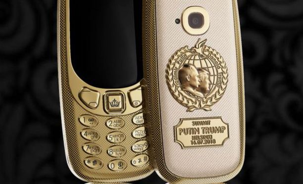 Tällä puhelimella kelpaa soitella vaikka itse presidentille!
