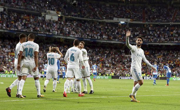 Real Madrid nappasi kotivoiton,