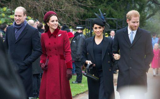 Harry ja William erotetaan toisistaan Philipin hautajaisissa – Catherine toimii sovittelijana