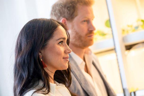 Meghan ja Harry tuskin valitsevat lapselleen kuninkaallista nimeä.