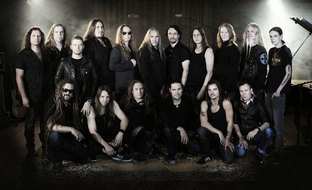 Raskasta Joulua -konserteissa nähdään ja kuullaan Suomen raskaan rockin nimiä.