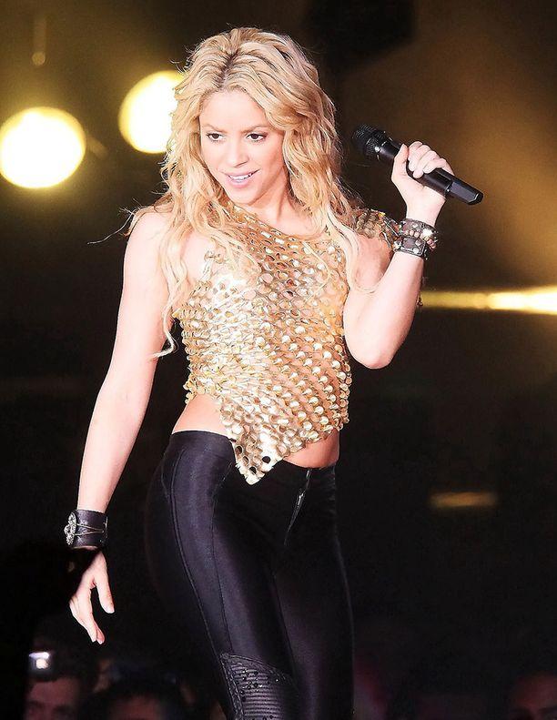 Shakiran lavakunto on kovan treenin tulosta.