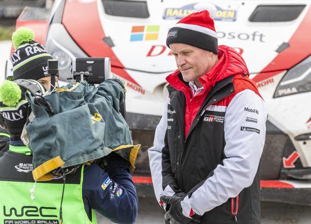 Tommi Mäkinen oli tyytyväinen Toyotan tuloksiin Monte Carlossa.