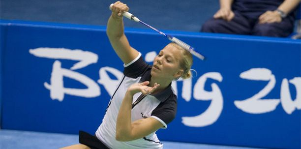 Anu Niemisen pelit hyytyivät Pekingin olympialaisten tapaan heti kättelyssä.