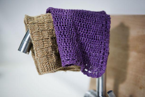 Voit toteuttaa rätit neulomalla tai virkkaamalla.