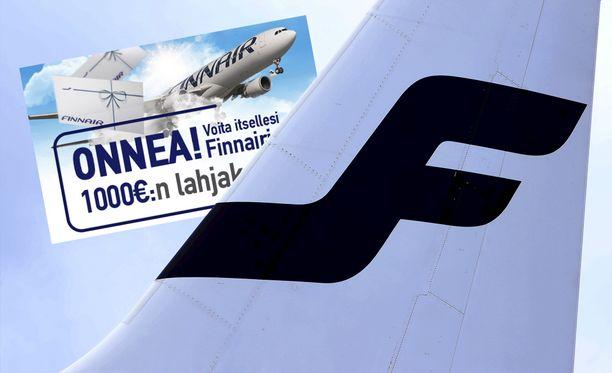 Finnair kertoo olevansa tietoinen liikkeellä olevista huijausviesteistä.