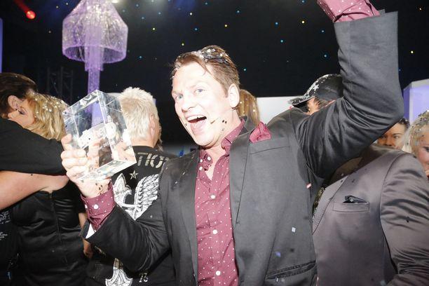 Jori Kopponen voitti Julkkis Big Brotherin vuonna 2013.