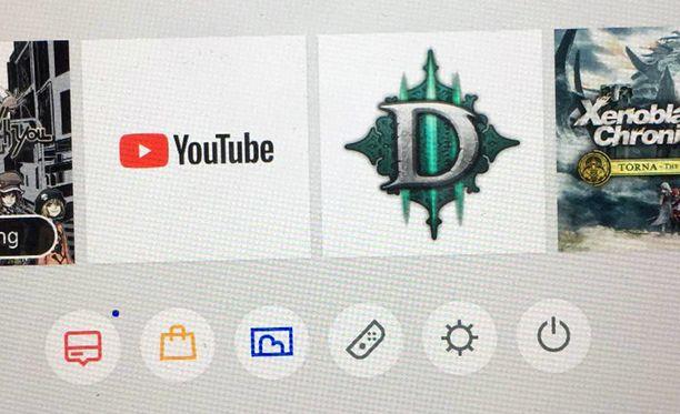 Youtuben voi ladata Switchille.