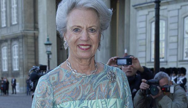 Prinsessa Benedikte edusti hymyilevänä syntymäpäivillään.