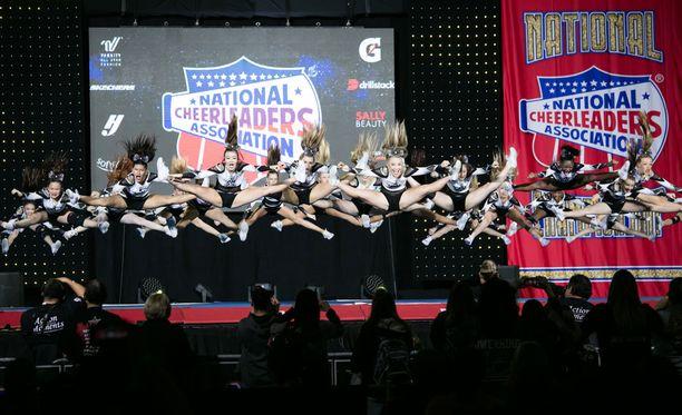 NCA All-Star Nationalseihin osallistui yli 20 000 cheerleaderia.