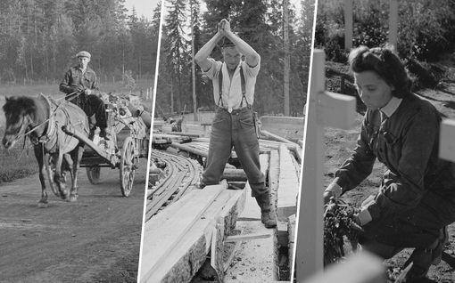 Toini, 17, painoi oven kiinni perässään ja astui kuorma-auton kyytiin – Stalinin moukari vei 400 000 suomalaiselta kodin