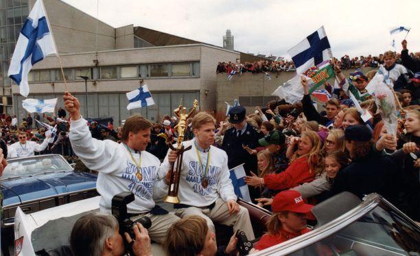 """Timo Jutila muisteli Leijonien juhlia """"sairaiksi""""."""