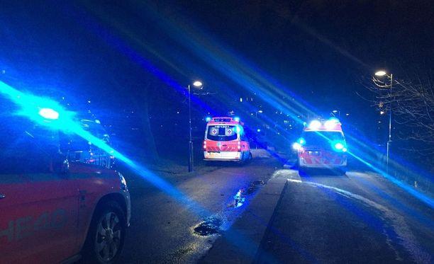 Pelastuslaitos pelasti veden varaan joutuneen henkilön Helsingin Töölönlahdella.