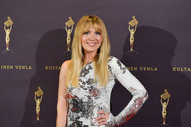 Jenni Alexandrova täyttää maanantaina 40 vuotta. Kuva Kultainen Venla -gaalasta vuonna 2019.
