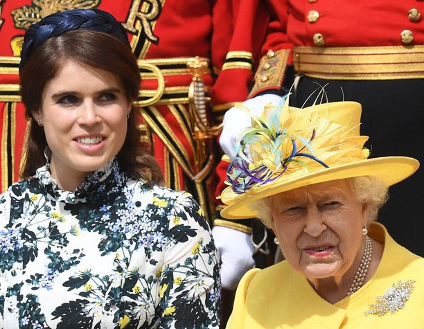 Prinsessa Eugenie sai isoäidiltään toruja.