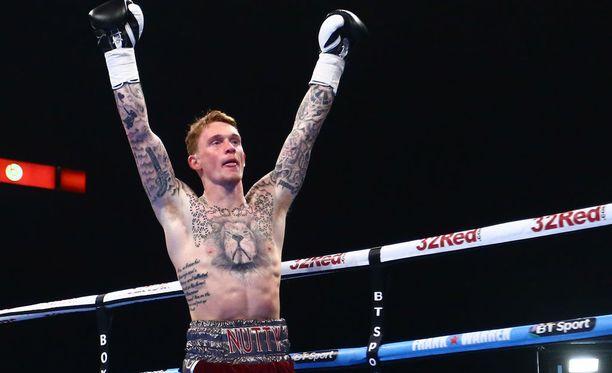 Mason Cartwright (kuvassa) oli voittamaton, ennen kuin vastaan astui Darren Tetley. Arkistokuva.
