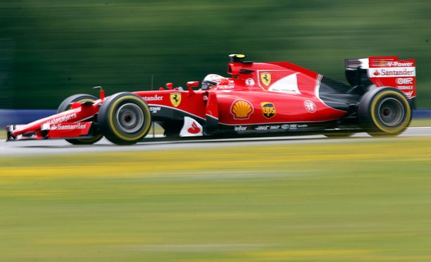 Tällä kertaa Räikkönen ei piiskannut Ferrariaan aivan samanlaisiin nopeuksiin kuin yleensä.