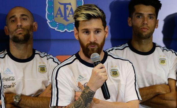 Marcan mukaan Lionel Messi oli turmakoneen kyydissä vain muutama viikko sitten.