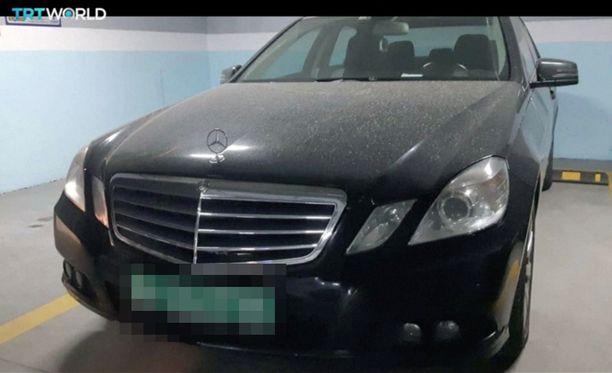 Tältä löytynyt auto näyttää.