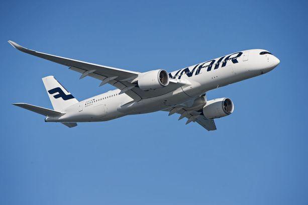 Työ- ja elinkeinoministeriö sai kuningasidean, johon liittyivät Finnair, pandat ja pandan näköiseksi maalattu lentokone.