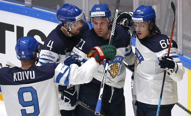 Suomen hyökkäys on monipuolinen ja leveä.