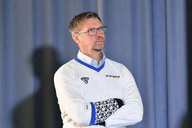 Jukka Jalonen unelmoi NHL:stä.