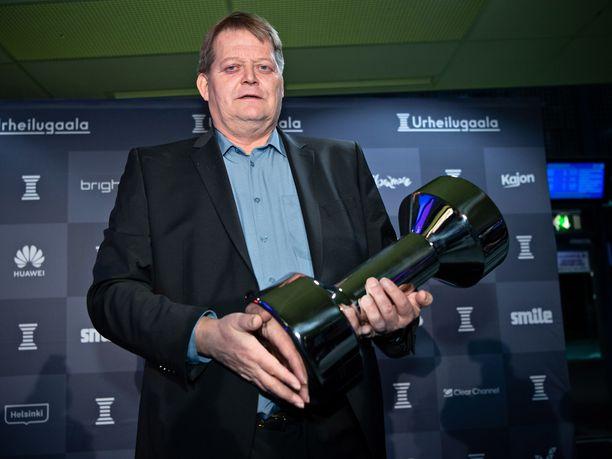 Seppo Räty valittiin tammikuussa urheilun kunniagalleriaan.