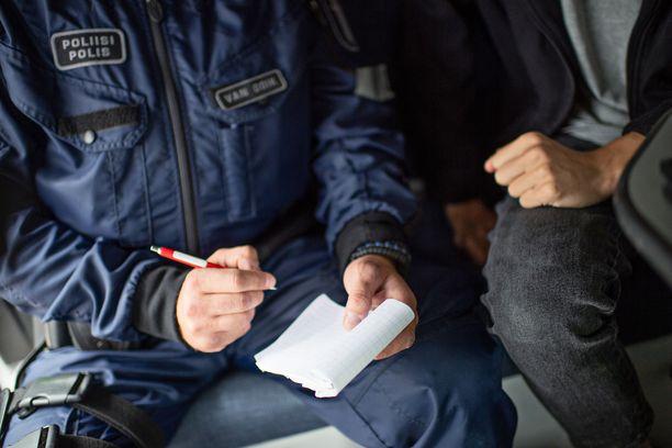 Poliisilla on pitänyt kiirettä Lounais-Suomessa. Kuvituskuva.
