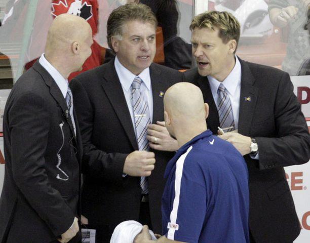 Doug Shedden oli tyytyväinen mies USA-ottelun jälkeen.