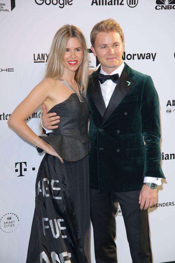 Nico ja Vivian Rosberg ovat tunteneet lapsuudesta saakka.
