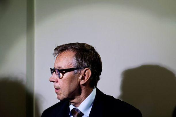 Oikeuskansleri Jaakko Jonkka.