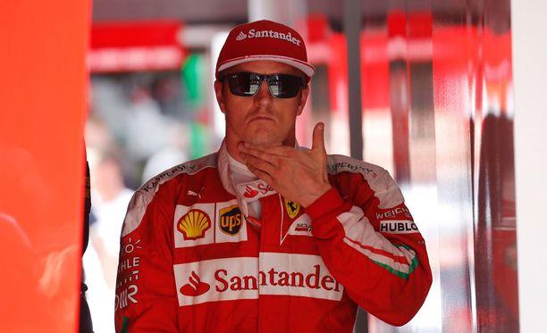 Kimi Räikkösen mielestä Hockenheimin kilpailu oli tylsä.