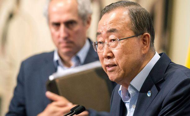 Ban Ki-moon teki aloitteen, jotta YK:n turvallisuusneuvosto ottaa käsittelyyn rauhanturvaajien hyväksikäyttötapaukset.