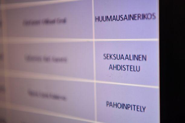 Ilari Sahamies joutui käräjille vastaamaan seksuaalisesta ahdistelusta.