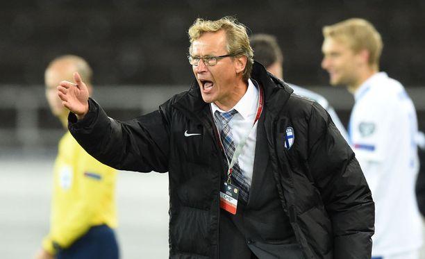 Markku Kanerva sai tilaisuuden.