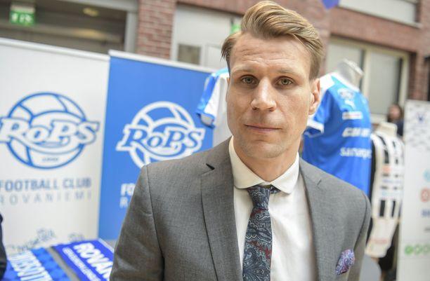 Toni Koskelalla on vahva HJK-tausta.