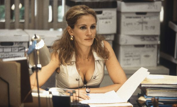 Julia Roberts teki palkituimman roolinsa vuonna 2000 elokuvassa Erin Brockovich.
