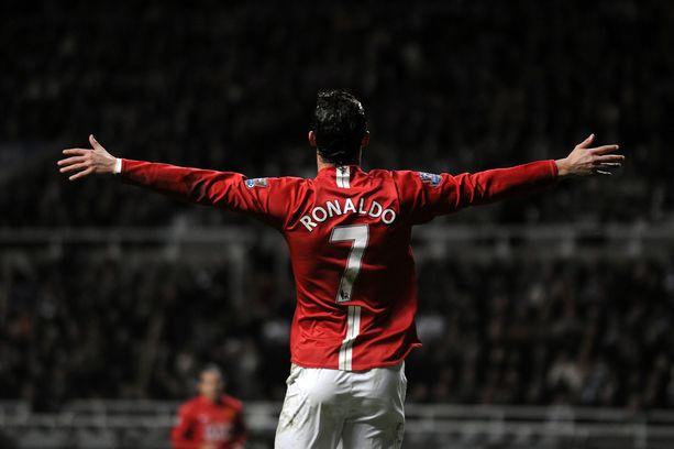 Cristiano Ronaldo nähdään jälleen seiskapaidassa Manchesterissa.