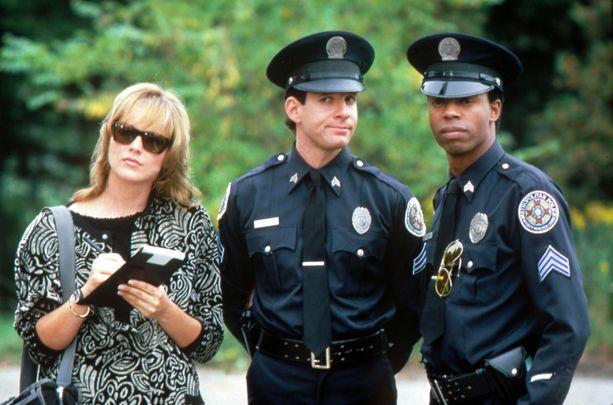 Legendaariset Poliisiopisto-elokuvat tehtiin 1980- ja 1990-luvulla.