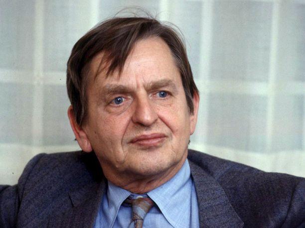 Ruotsin pääministeri Olof Palme murhattiin 34 vuotta sitten vuonna 1986.