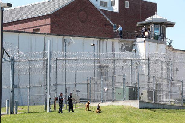 Tästä vankilasta Matt pakeni Sweatin kanssa viime viikonloppuna New Yorkin osavaltiossa.
