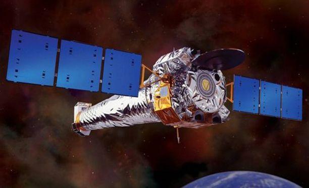 Chandra-avaruusteleskooppia käytettiin mustan aukon sijainnin löytämiseen.